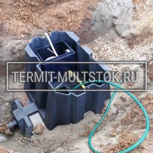 Монтаж септика Эргобокс Термит под ключ